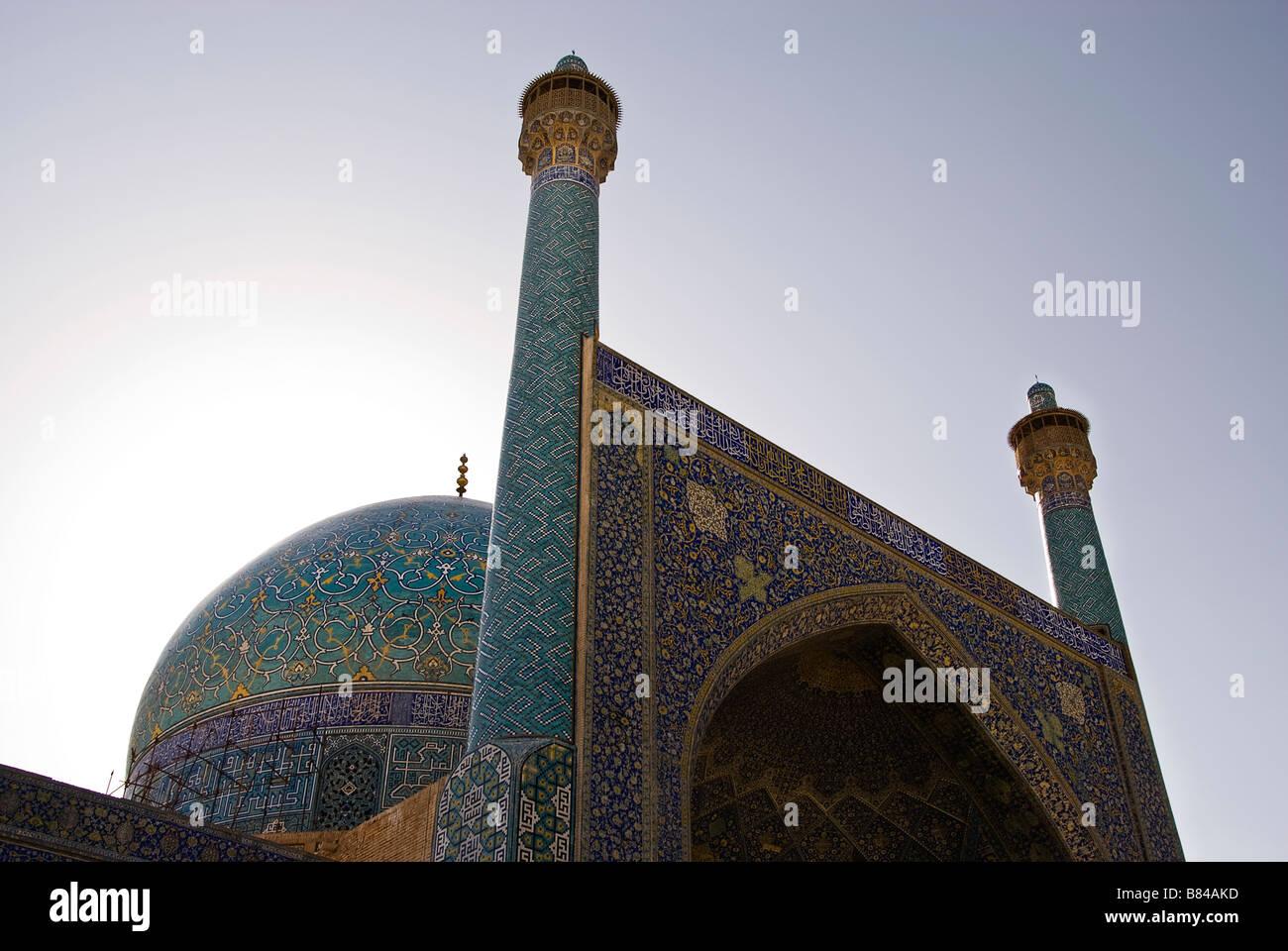 Imam s mosque Isfahan Iran - Stock Image