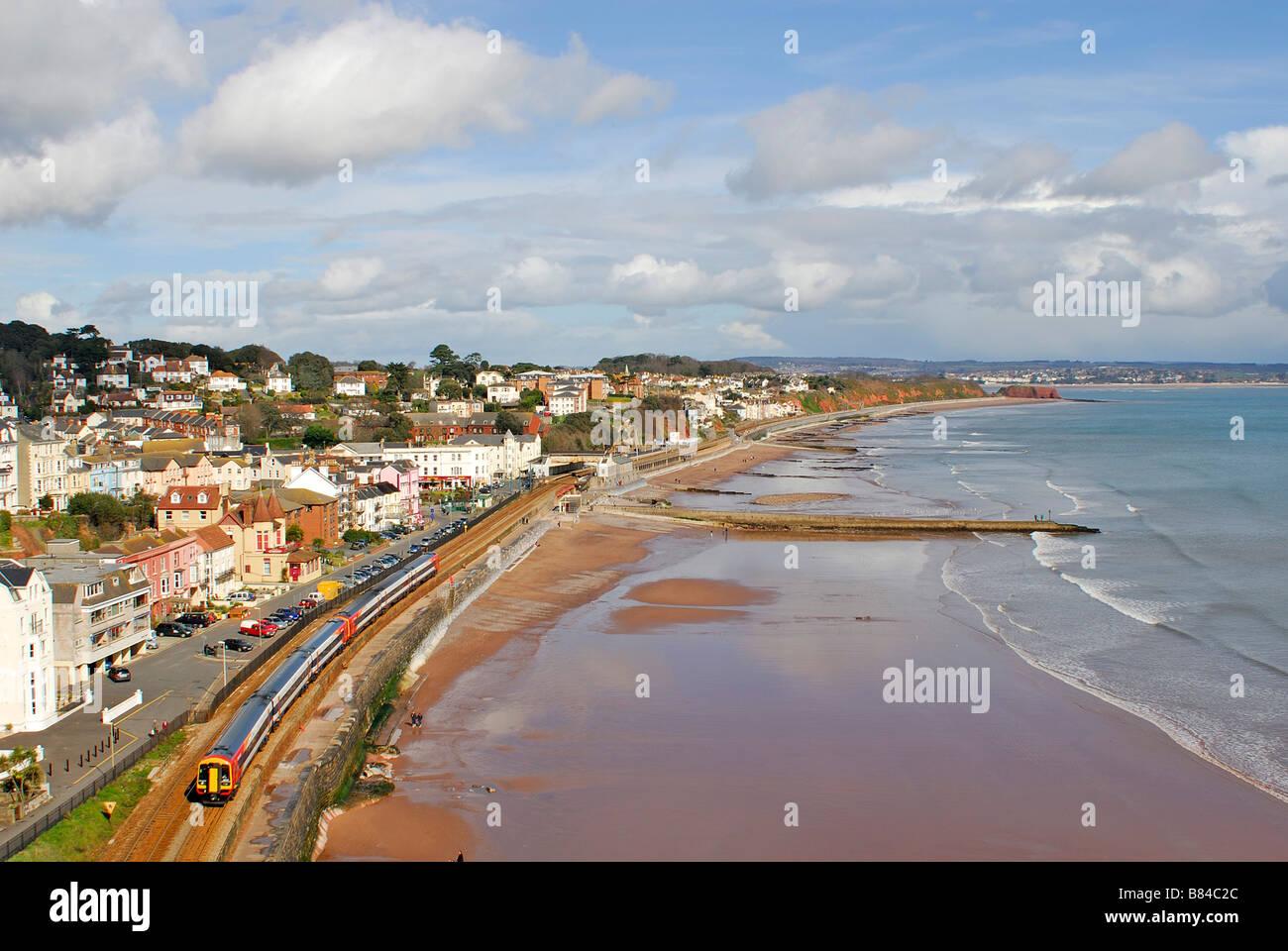Dawlish South Devon UK - Stock Image