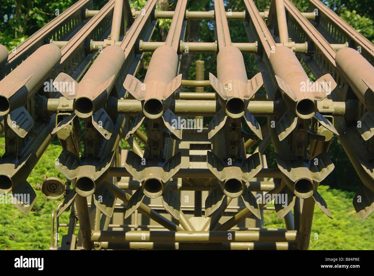 Katjuscha Katyusha rocket launcher 02 - Stock Image