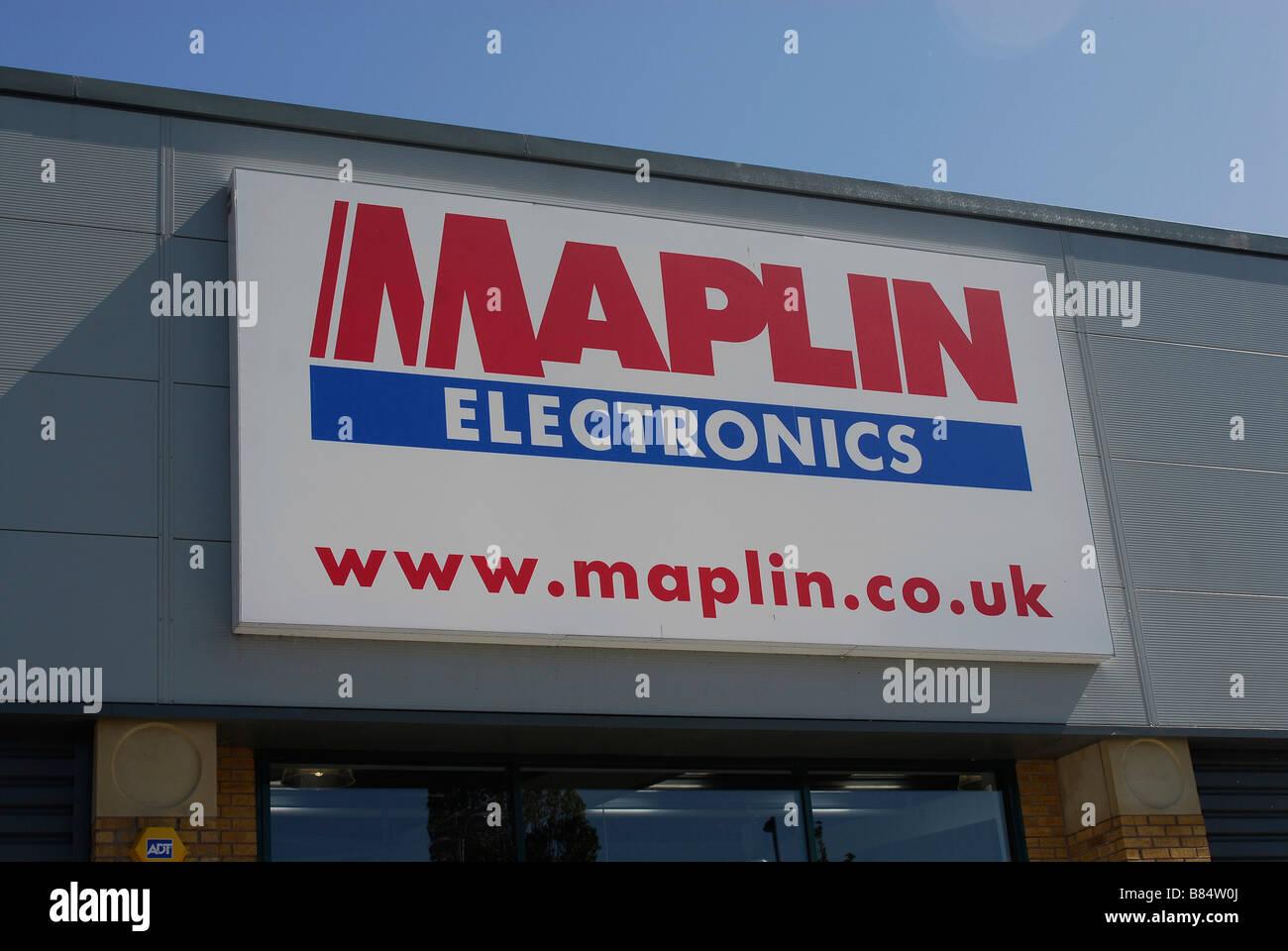 Maplin Electronics - Stock Image