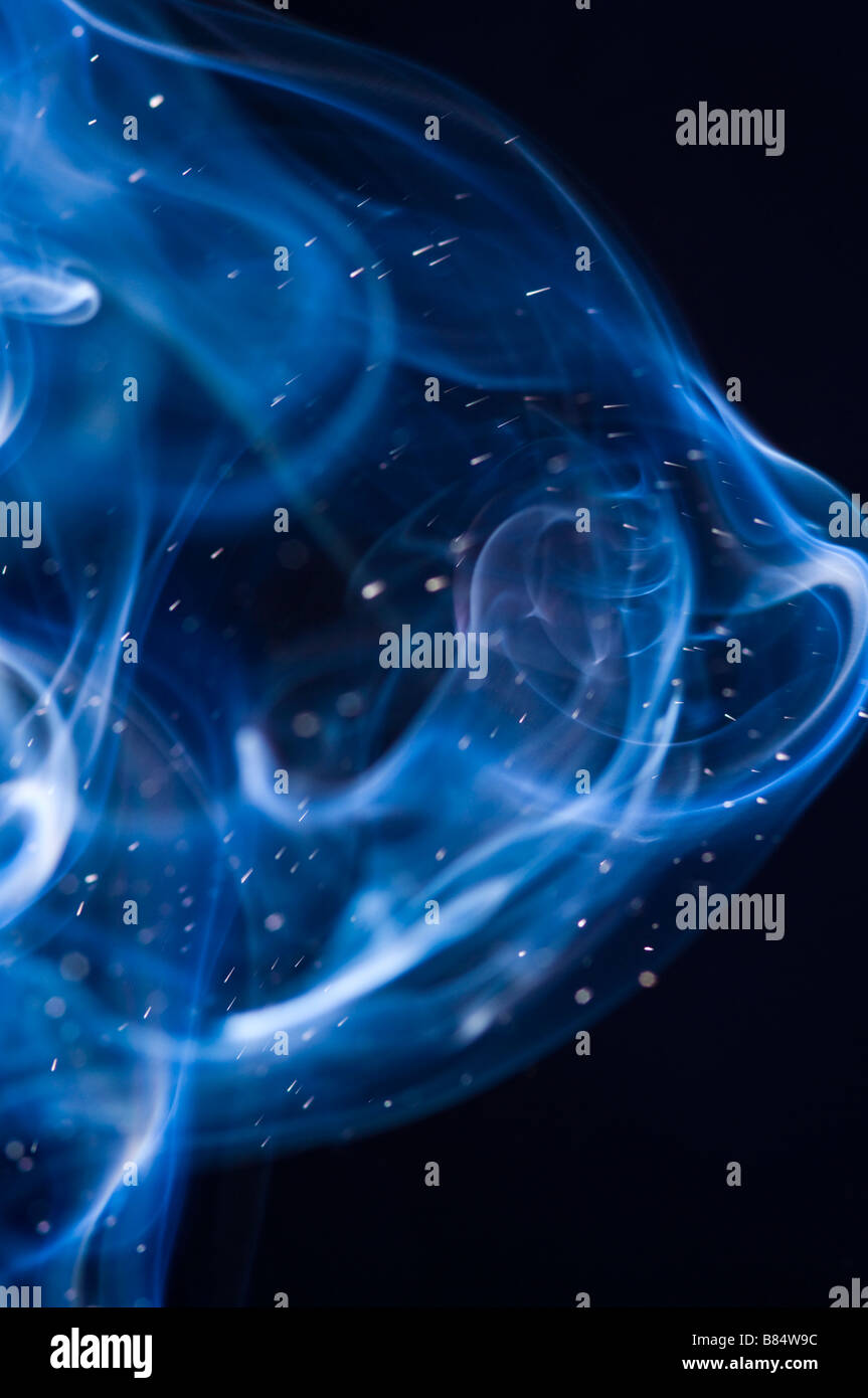 Smoke plume - Stock Image