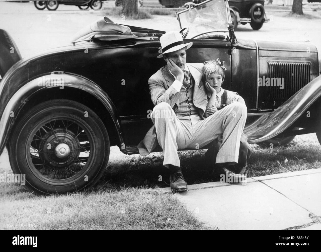 Paper Moon  Year  1973 - USA Tatum O'Neal, Ryan O'Neal  Director : Peter Bogdanovich - Stock Image