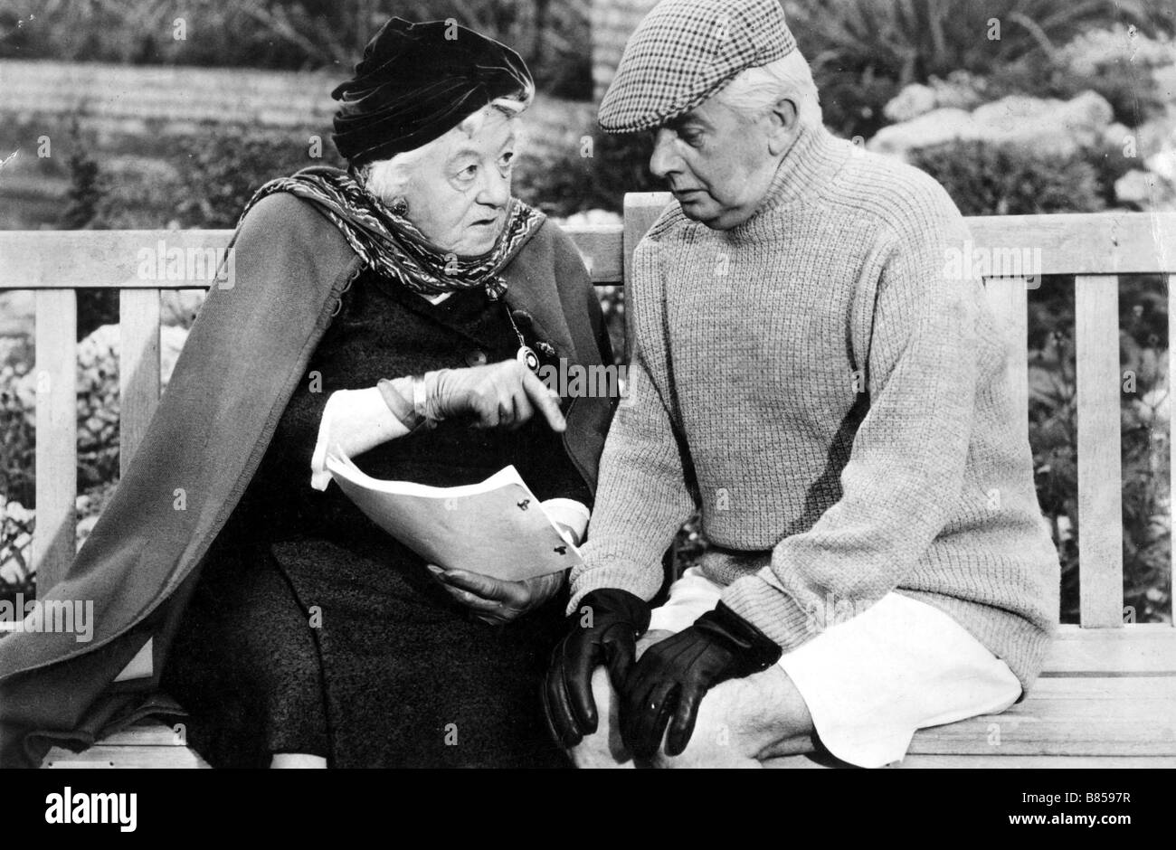 Murder Most Foul  Year: 1964  Director: George Pollock Margaret Rutherford  Adaption of a novel of Agatha Christie - Stock Image