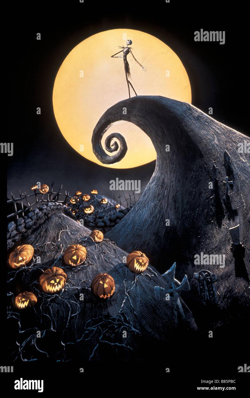 Nightmare Before Christmas Pumpkin Stock Photos & Nightmare Before ...