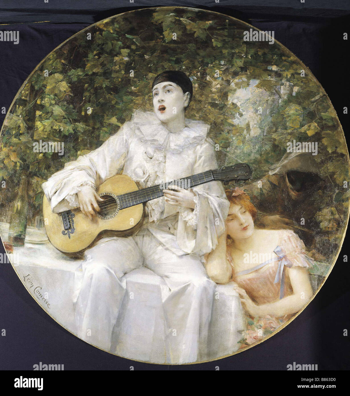 Comerre, Pierrot, Colombine and Arlequin Stock Photo: 22262044 - Alamy
