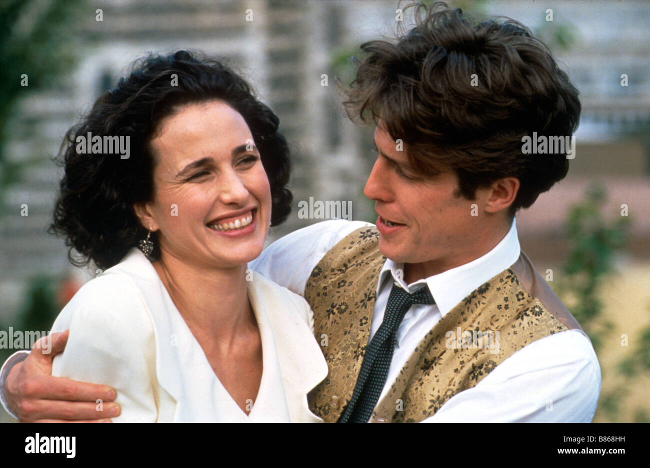 Four Weddings And A Funeral Year 1994 Uk Director Mike Newell Hugh