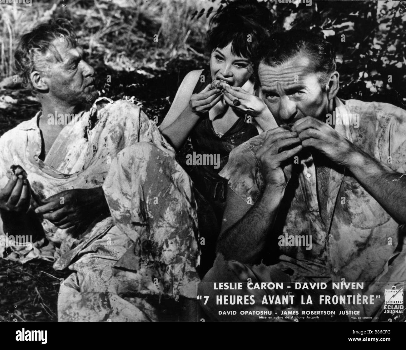 Guns of Darkness  Année : 1962 UK Leslie Caron, David Niven  Director : Anthony Asquith Stock Photo
