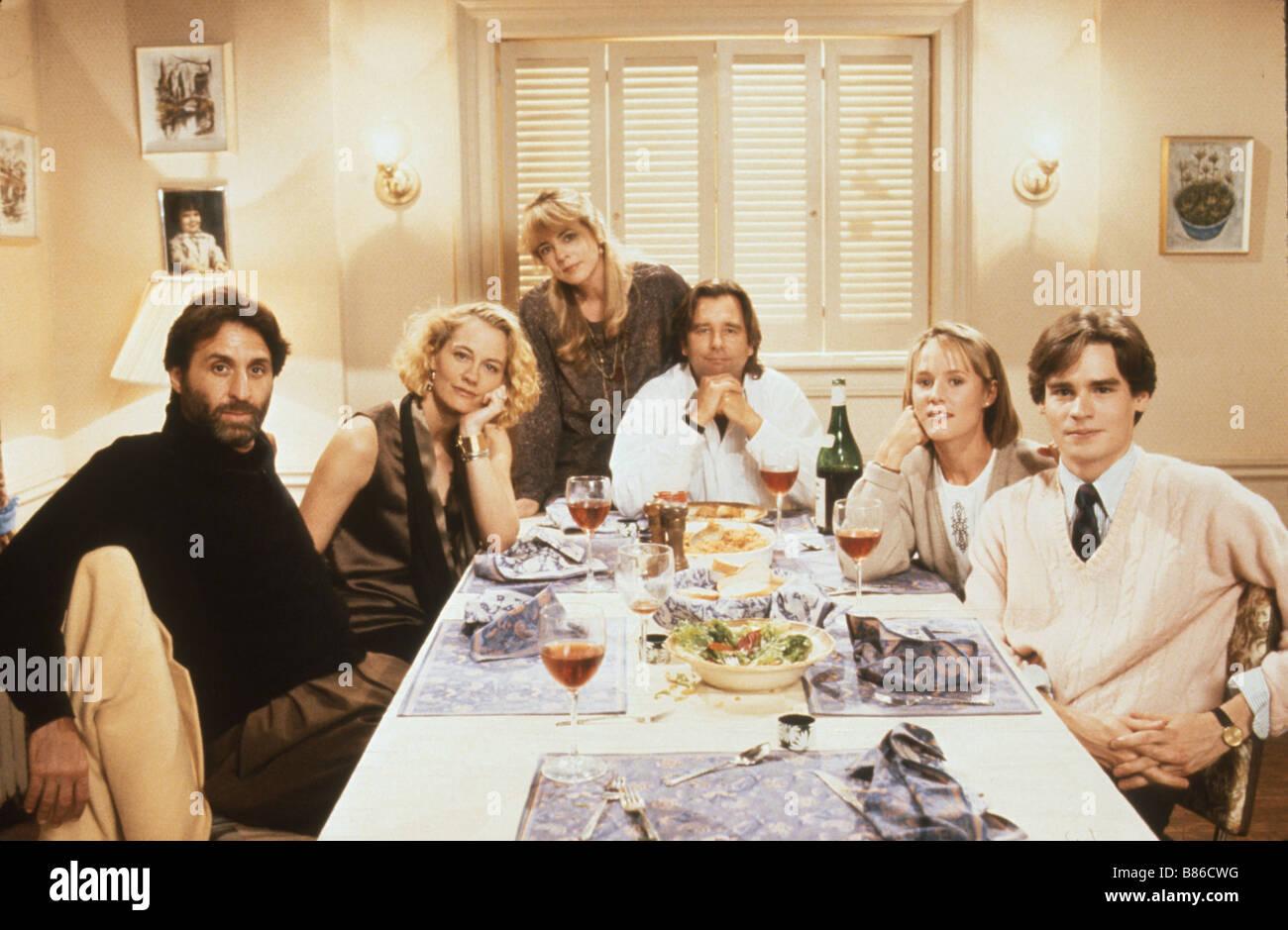 pour le meileur et pour le pire Married to It  Année : 1991 - USA Cybill Shepherd, Ron Silver, Beau Bridges, Stockard Stock Photo