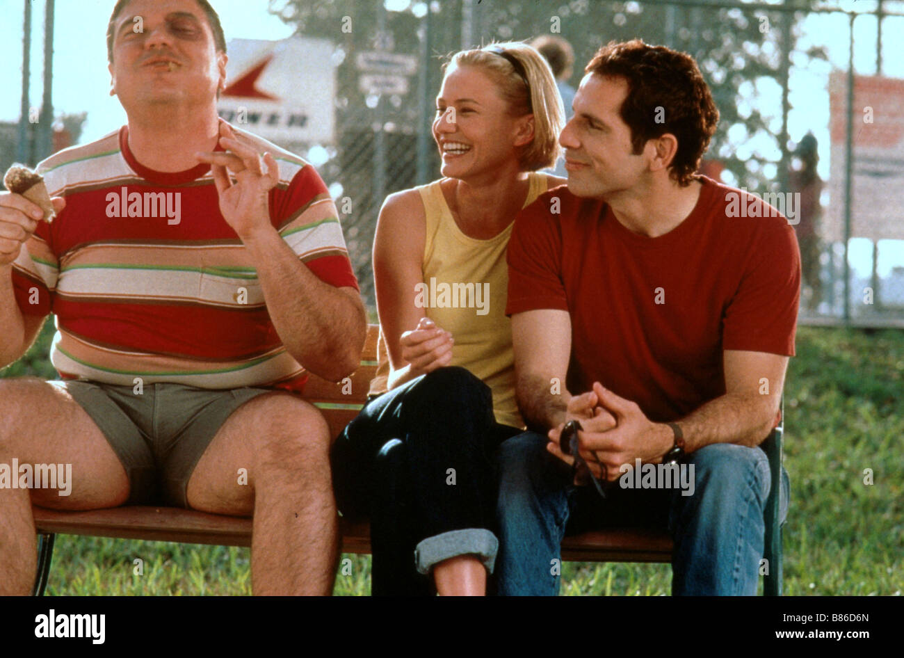There's Something About Mary  Année : 1998 - USA W. Earl Brown, Cameron Diaz, Ben Stiller  Director : Bobby - Stock Image