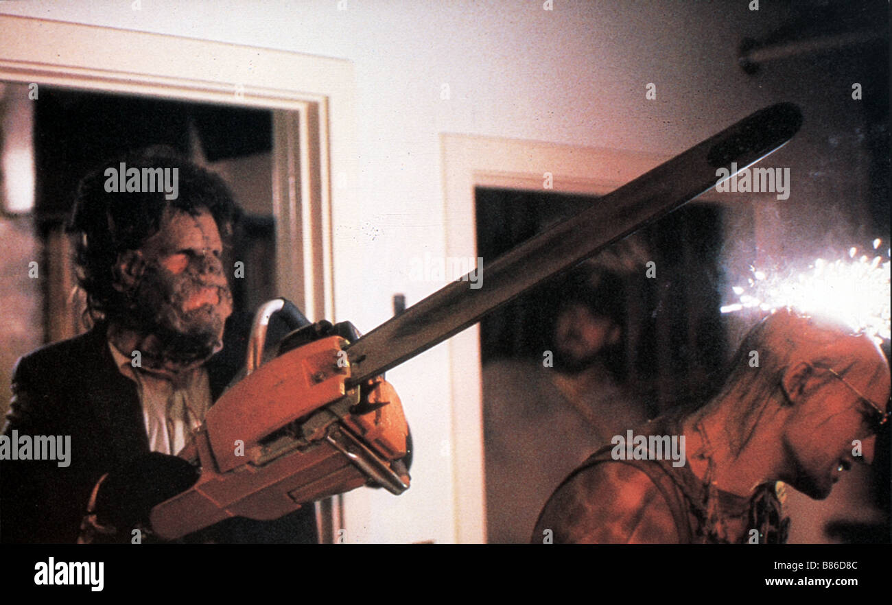 The Texas Chainsaw Massacre 2  Year : 1986 - USA Director : Tobe Hooper Stock Photo