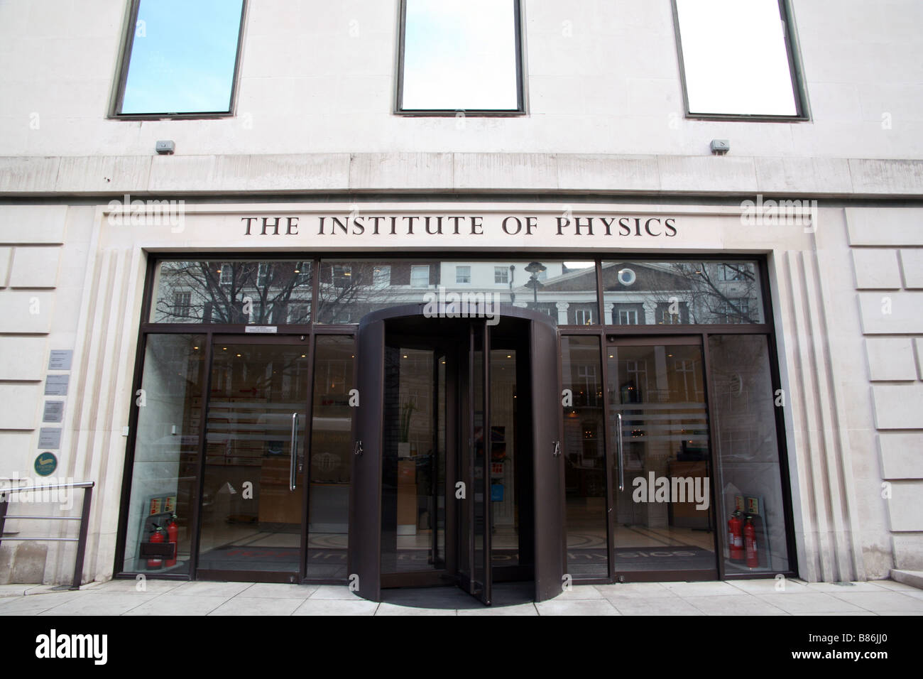 Institute of Physics in Portland Place, London - Stock Image