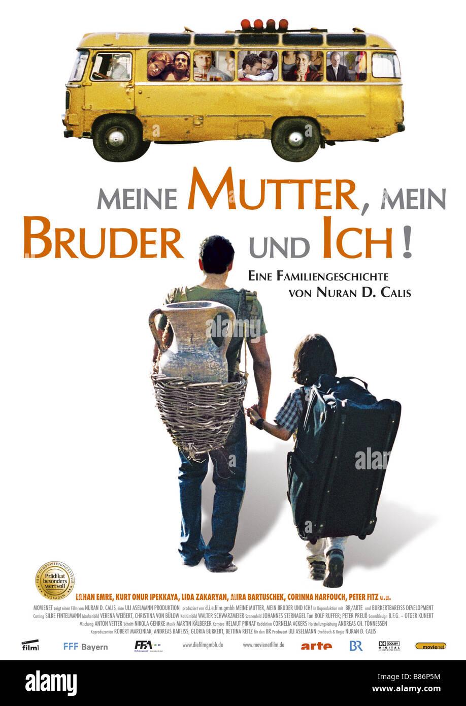 Meine Mutter, mein Bruder und ich! Meine Mutter, mein Bruder und ich!  Year : 2008 - Germany Affiche / Poster  Director: - Stock Image