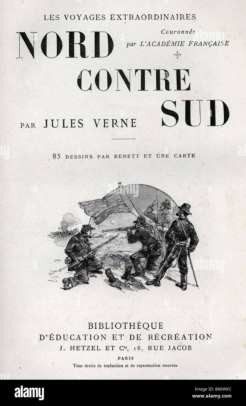 Page De Garde Jules Verne Stock Photos Page De Garde Jules