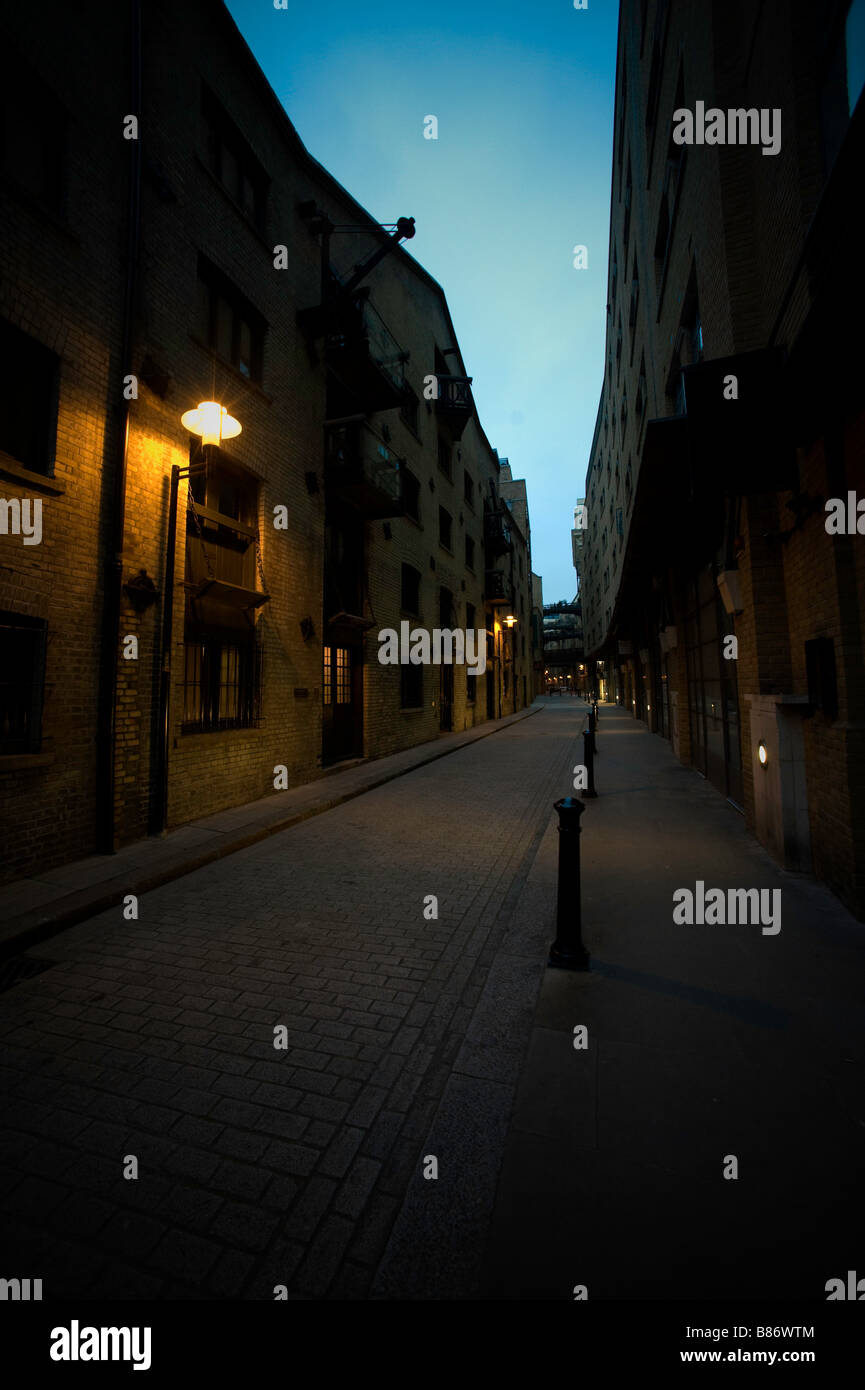Shad Thames, Butlers Wharf, Bermondsey South London - Stock Image