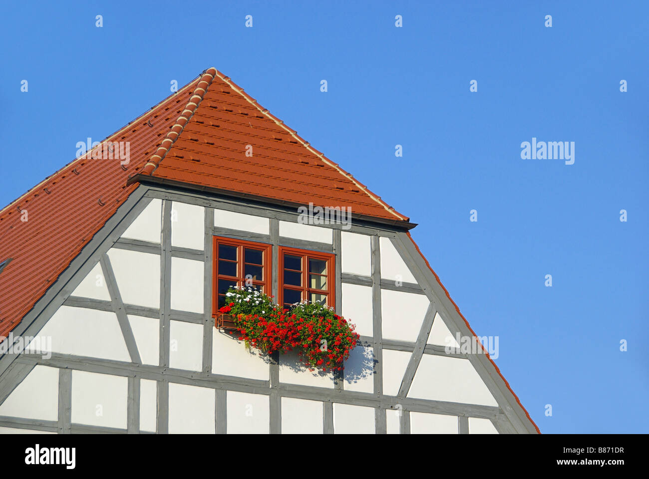 Fachwerkhaus half timber house 01 - Stock Image