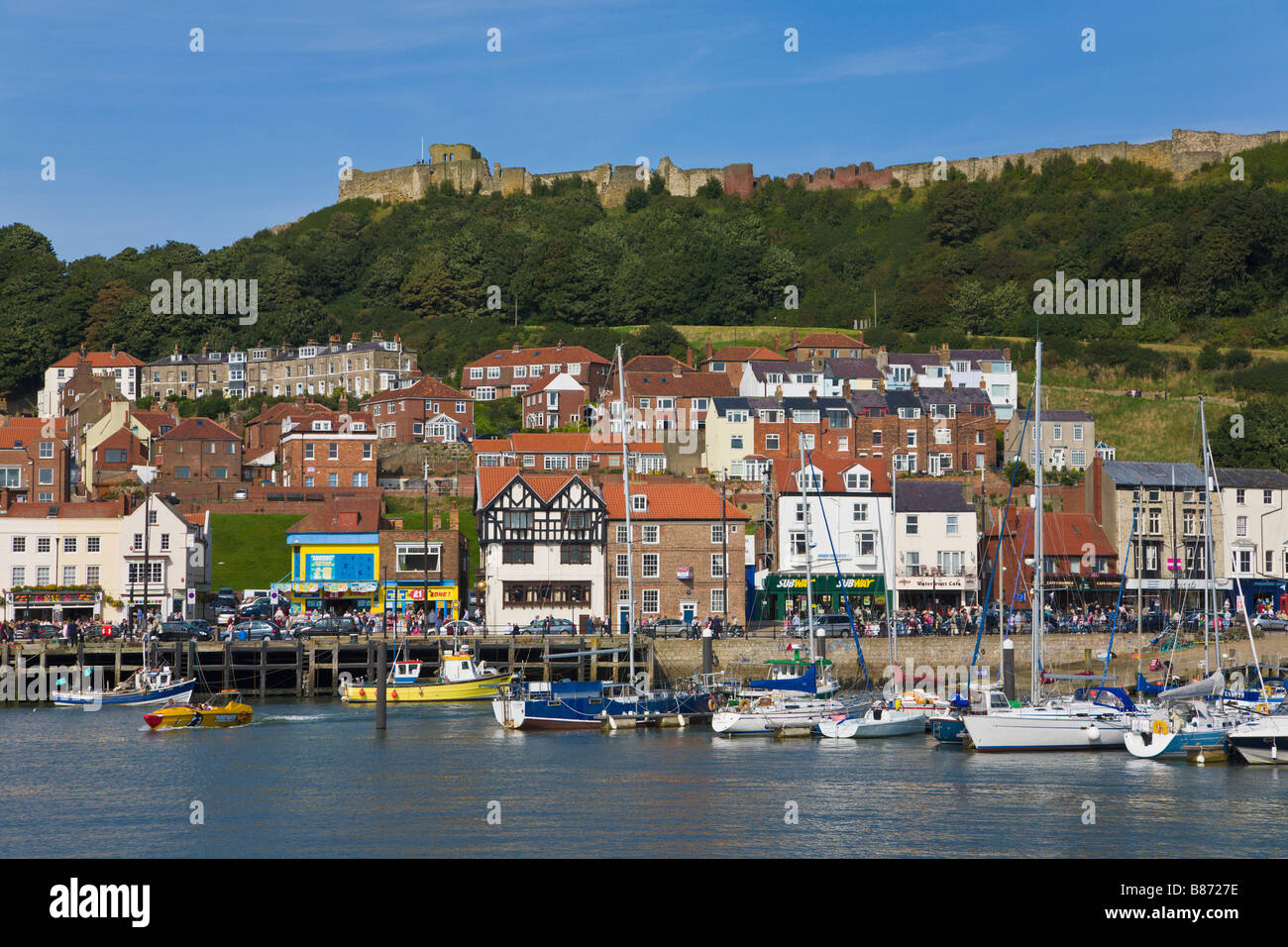 Scarborough, 'North Yorkshire', England - Stock Image