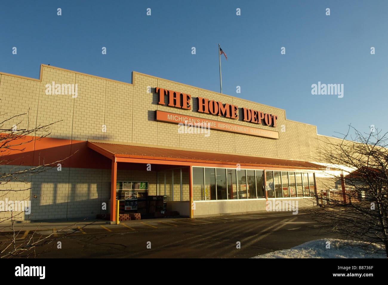 Home Depot Store In Flint Michigan Usa Stock Photo 22283815