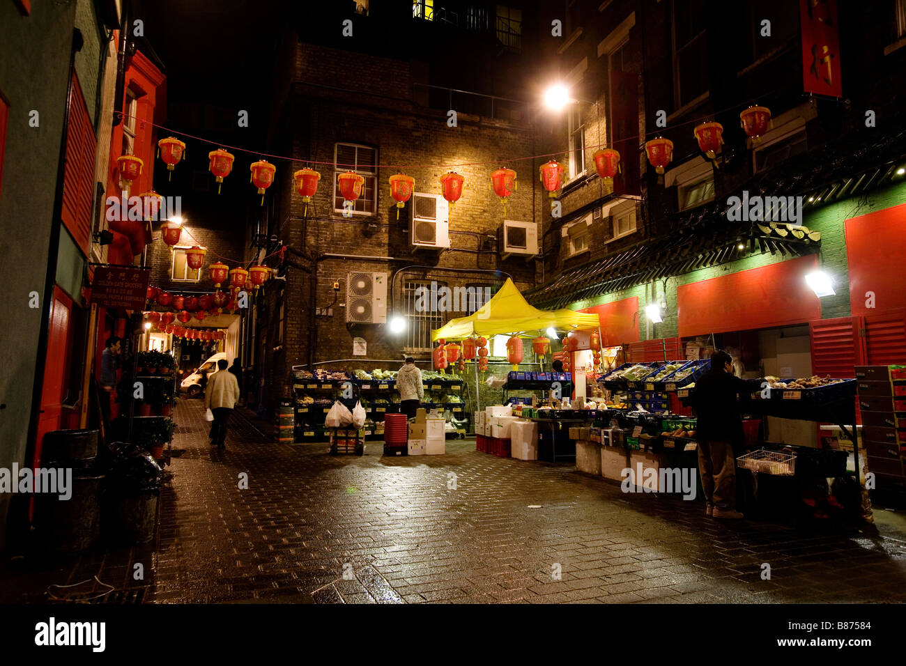 China Town in London. - Stock Image