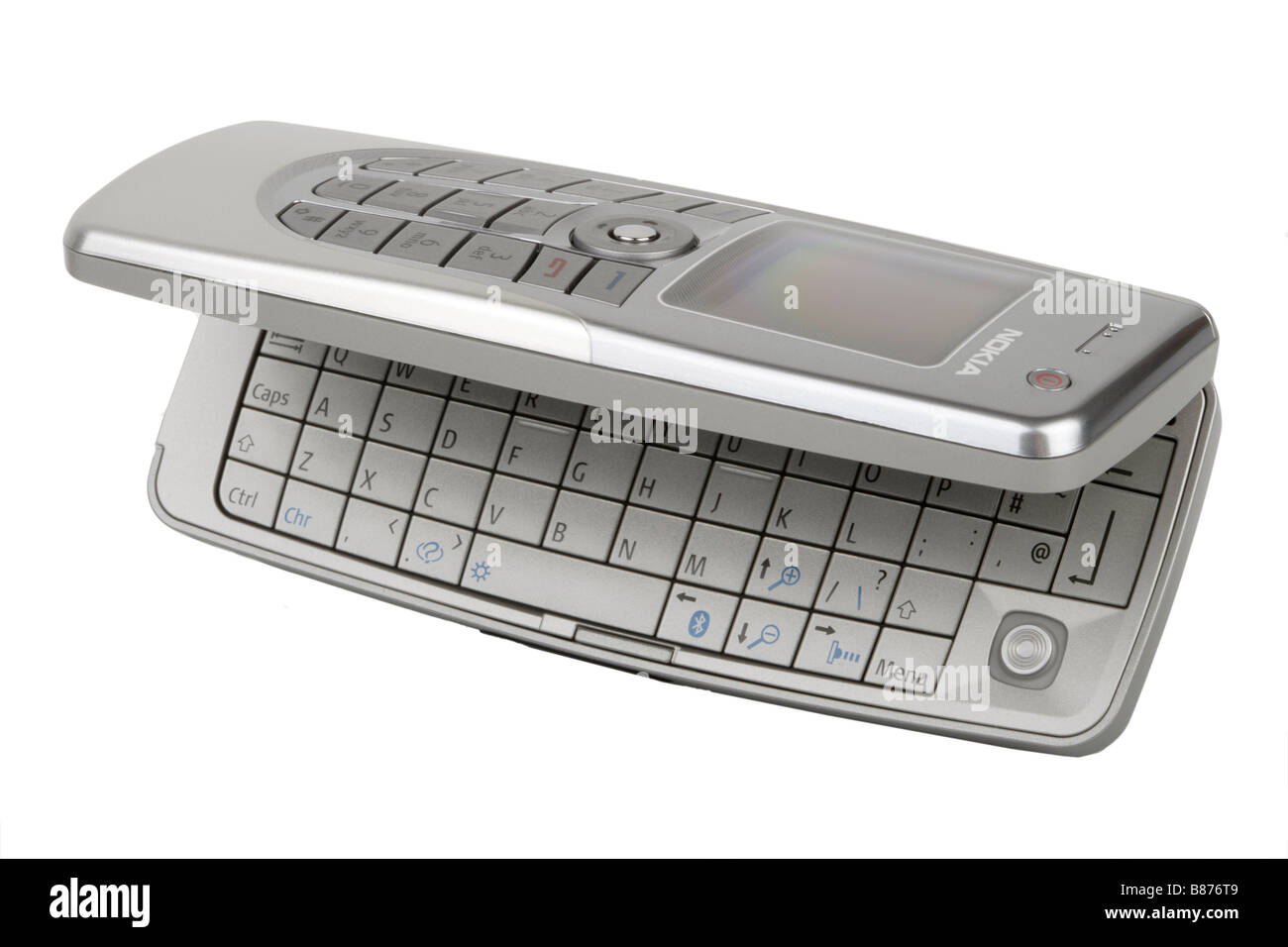 Nokia Cellphone Stock Photos Images Alamy Cell Phone Mobile Telephone And Keyboard Image