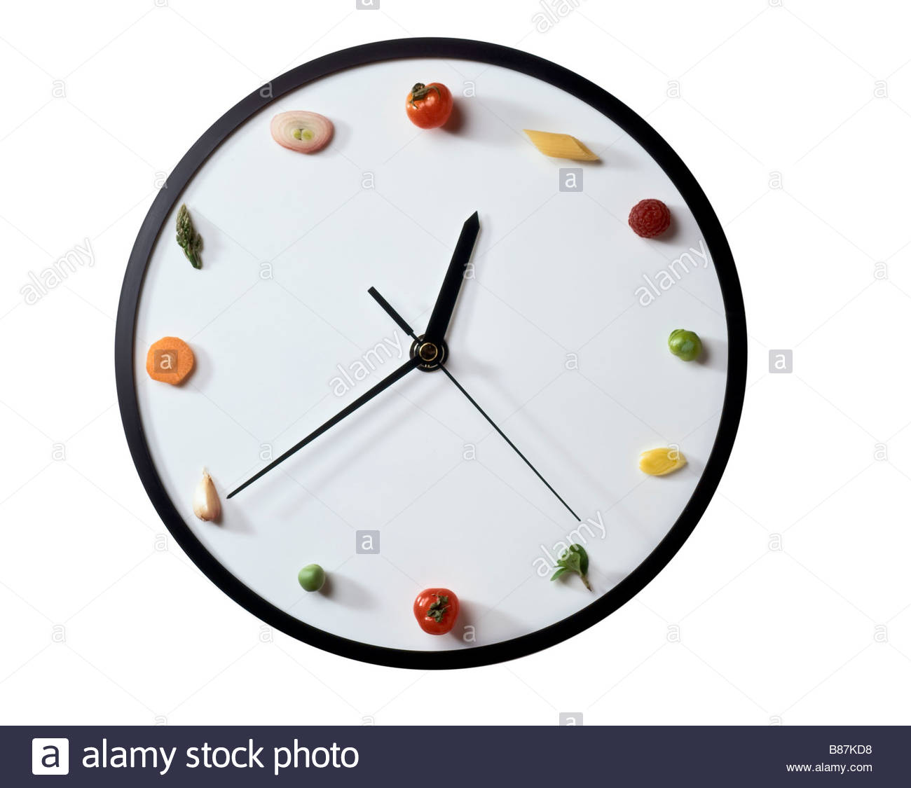 symbolic clock - Stock Image
