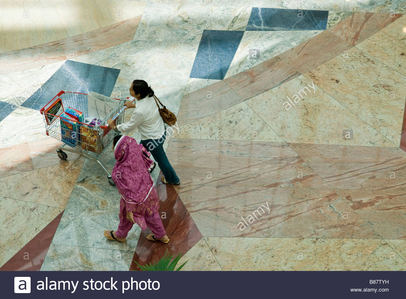 Dubai UAE- Mall of the emirates, - Stock Image
