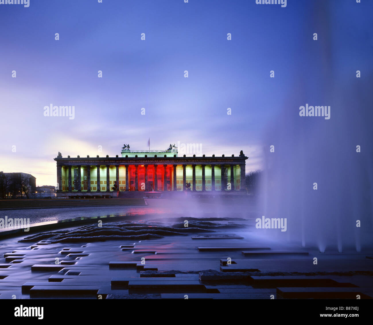 Old museum Berlin Museum island Classicism - Stock Image