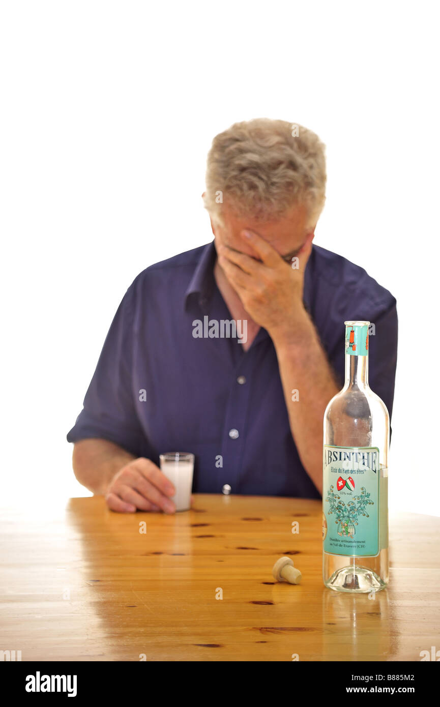 Despair - Stock Image