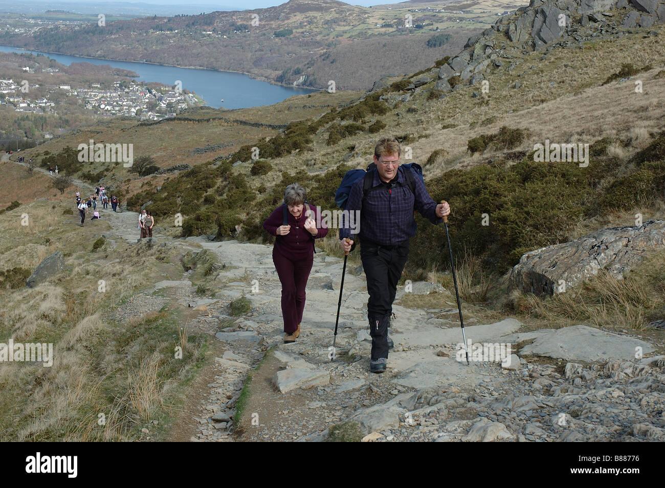 How Long To Climb Snowdon >> Climbing Snowdon Stock Photos Climbing Snowdon Stock