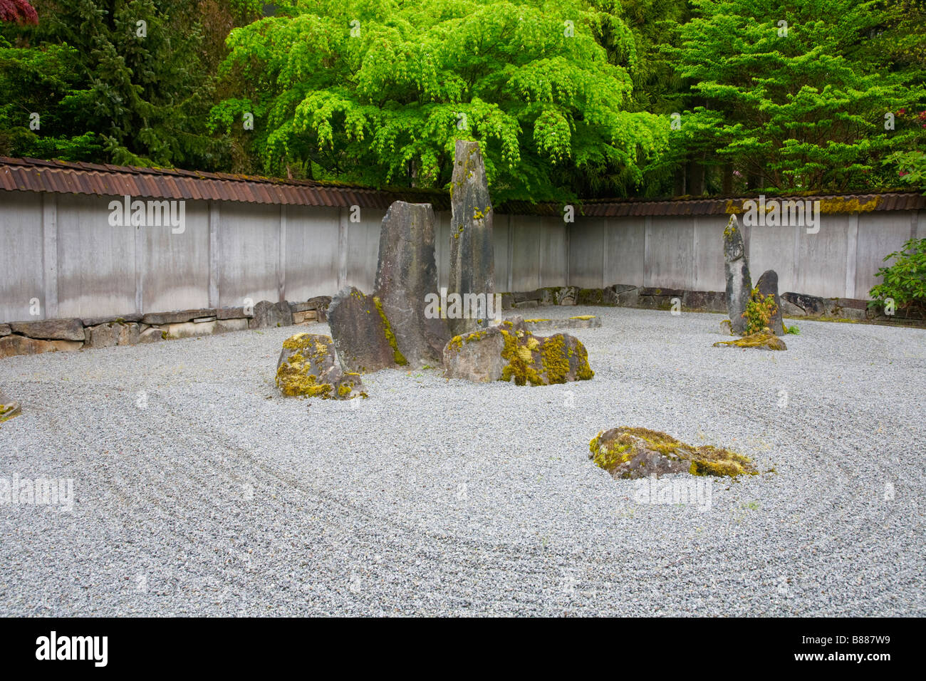 Stone Zen Garden Woodinville wa raked sand and stone in the zen garden of the welch woodinville wa raked sand and stone in the zen garden of the welch sanctuary workwithnaturefo