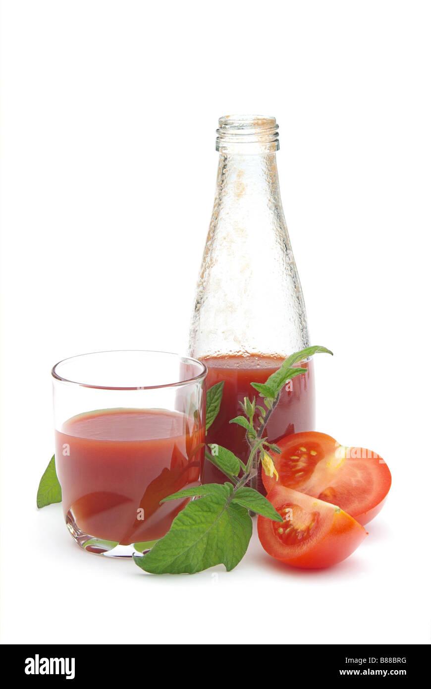 Tomatensaft tomato juice 01 - Stock Image