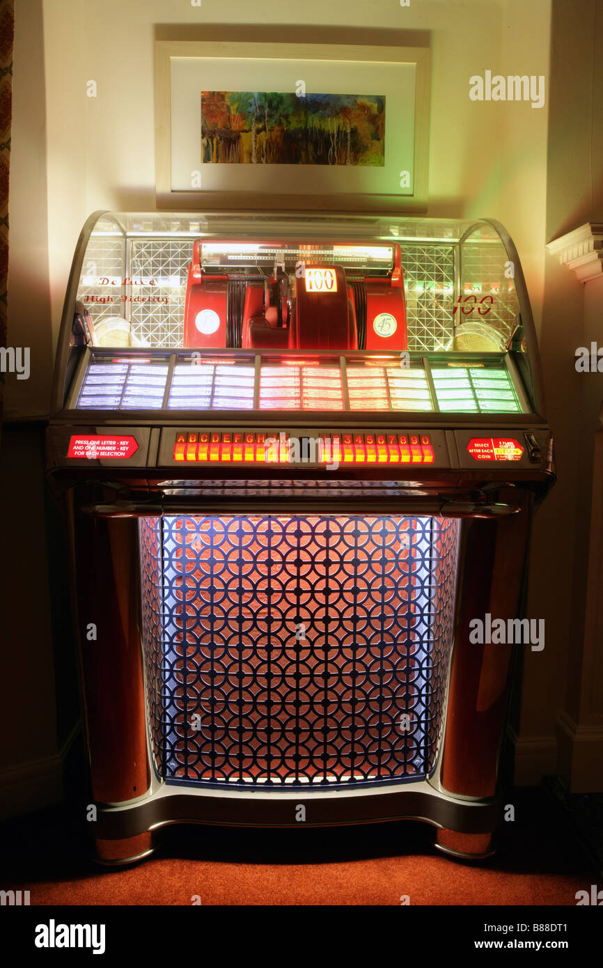Seeburg 100 select-o-matic Jukebox - Stock Image