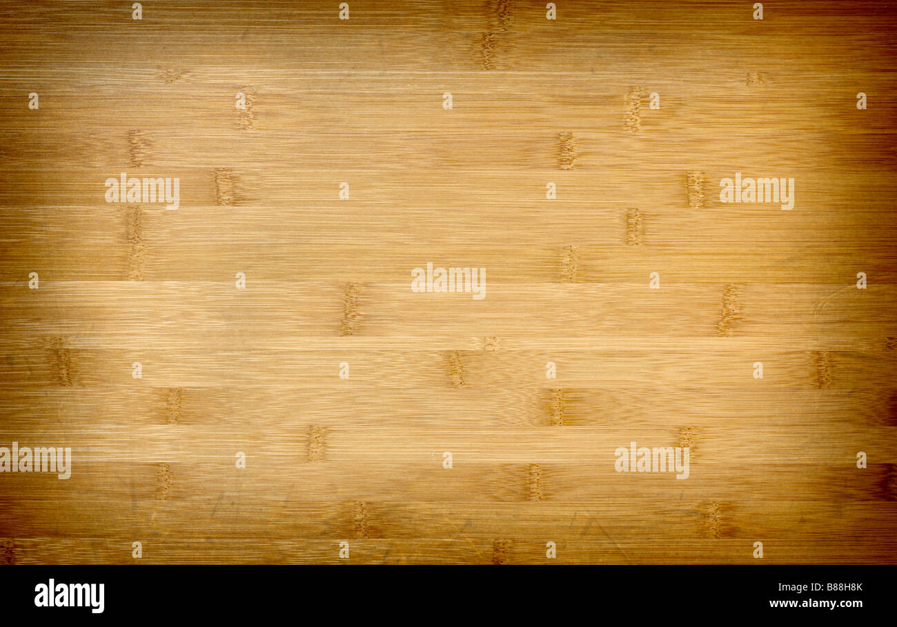 fine close up detail of wood grunge bamboo texture floor - Stock Image