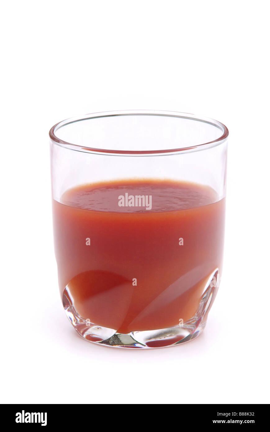 Tomatensaft tomato juice 09 - Stock Image