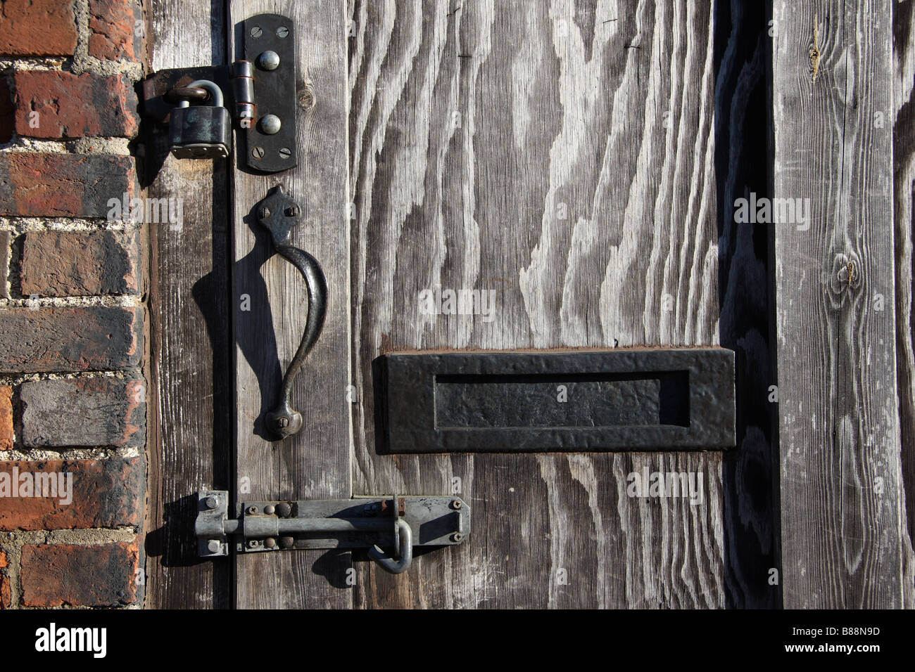 padlock bolt victorian barn hayloft hay bale loading door medway valley walk river medway yalding kent & Hayloft Door Stock Photos \u0026 Hayloft Door Stock Images - Alamy