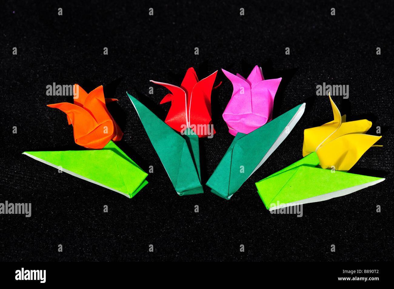 Origami Japanese Paper Folding Art Stock Photos Origami Japanese