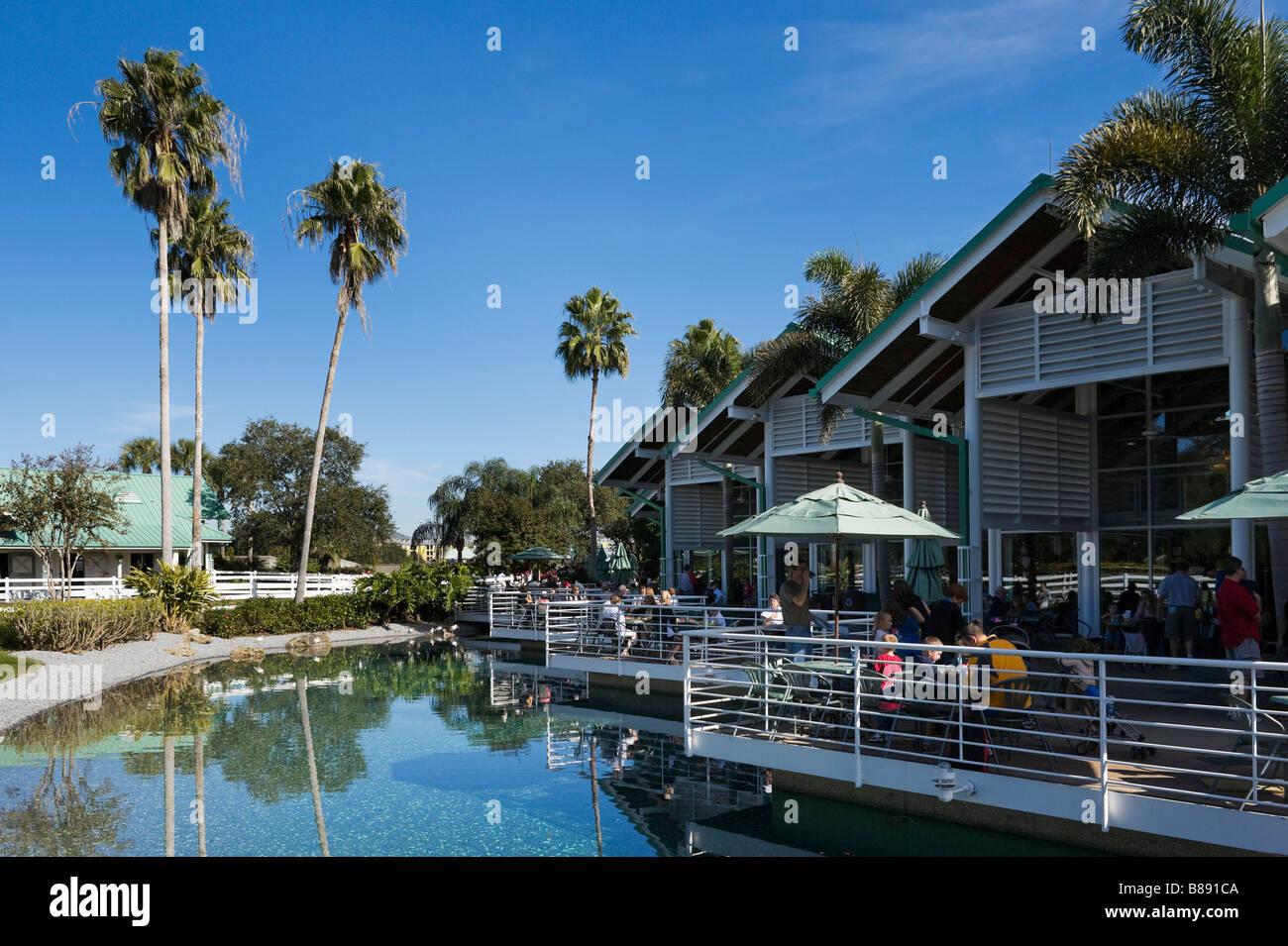 Anheuser Busch Hospitality Center, Sea World, Orlando, Central Florida, USA - Stock Image