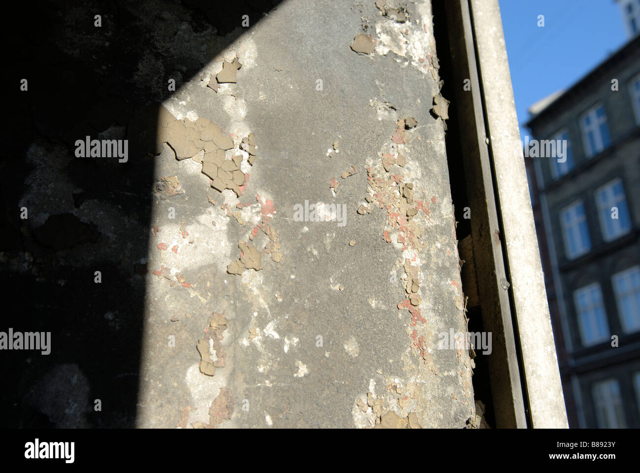 URBAN DECLINE - Stock Image