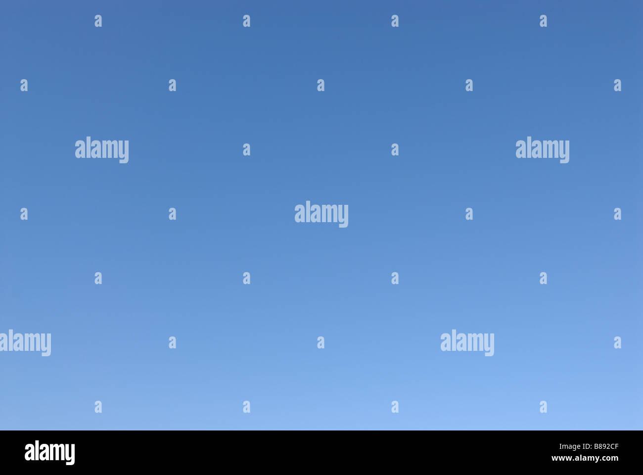 BLUE SKY BACKGROUND - Stock Image