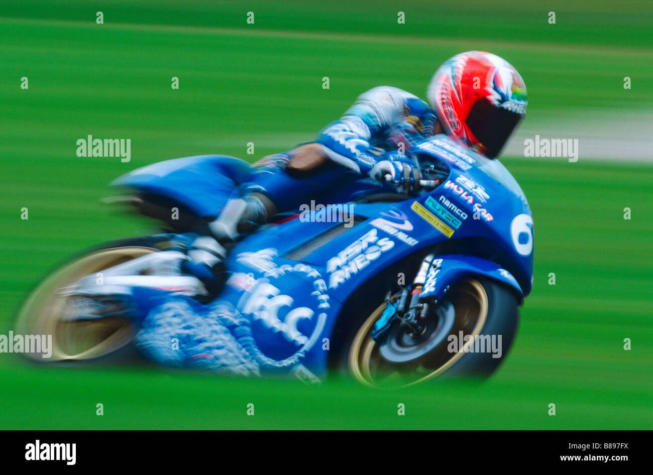 MOTO GP RACE - Stock Image