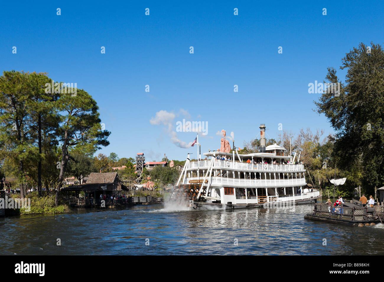 Liberty Square Riverboat in Frontierland, Magic Kingdom