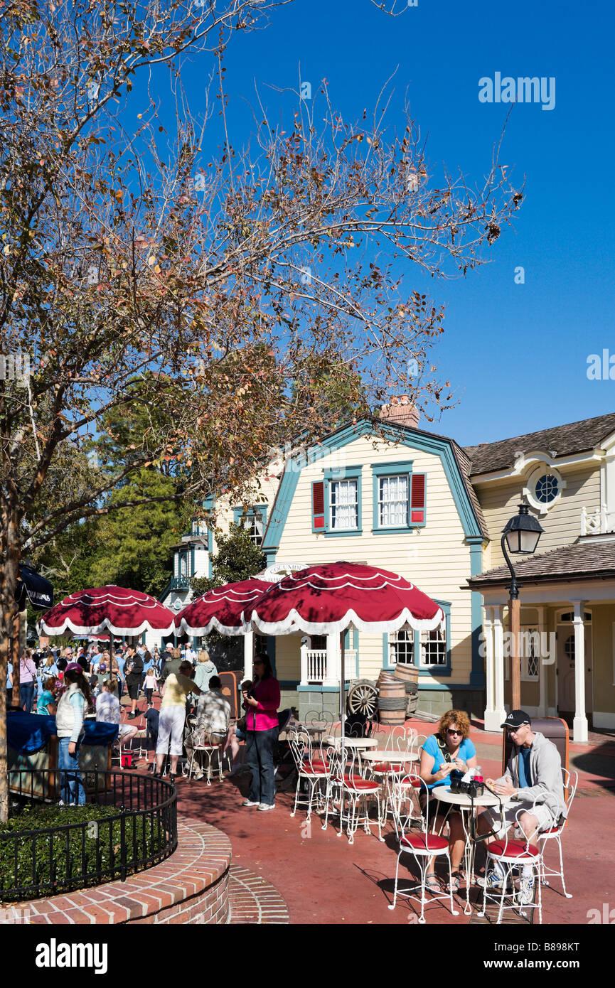 Cafe in Liberty Square, Magic Kingdom, Walt Disney World