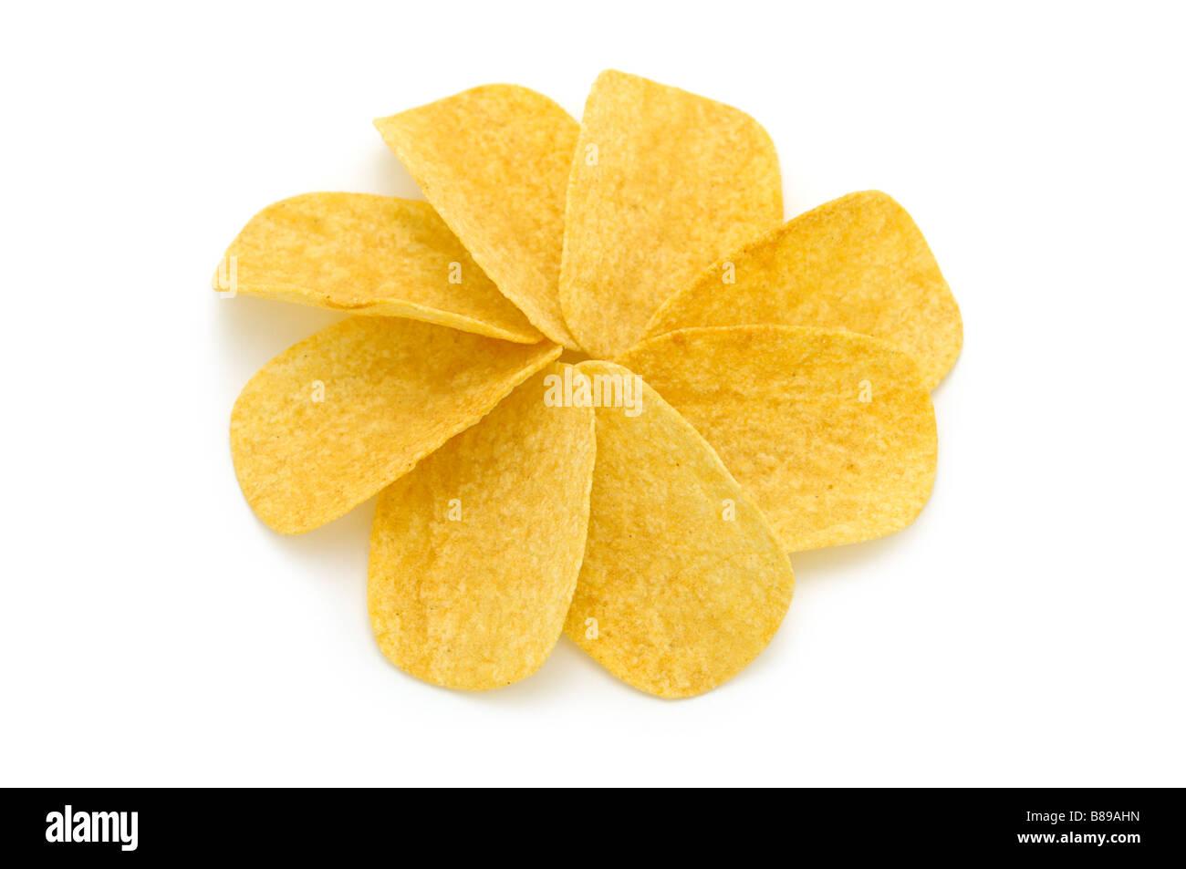 Potato Crisps/Chips - Stock Image