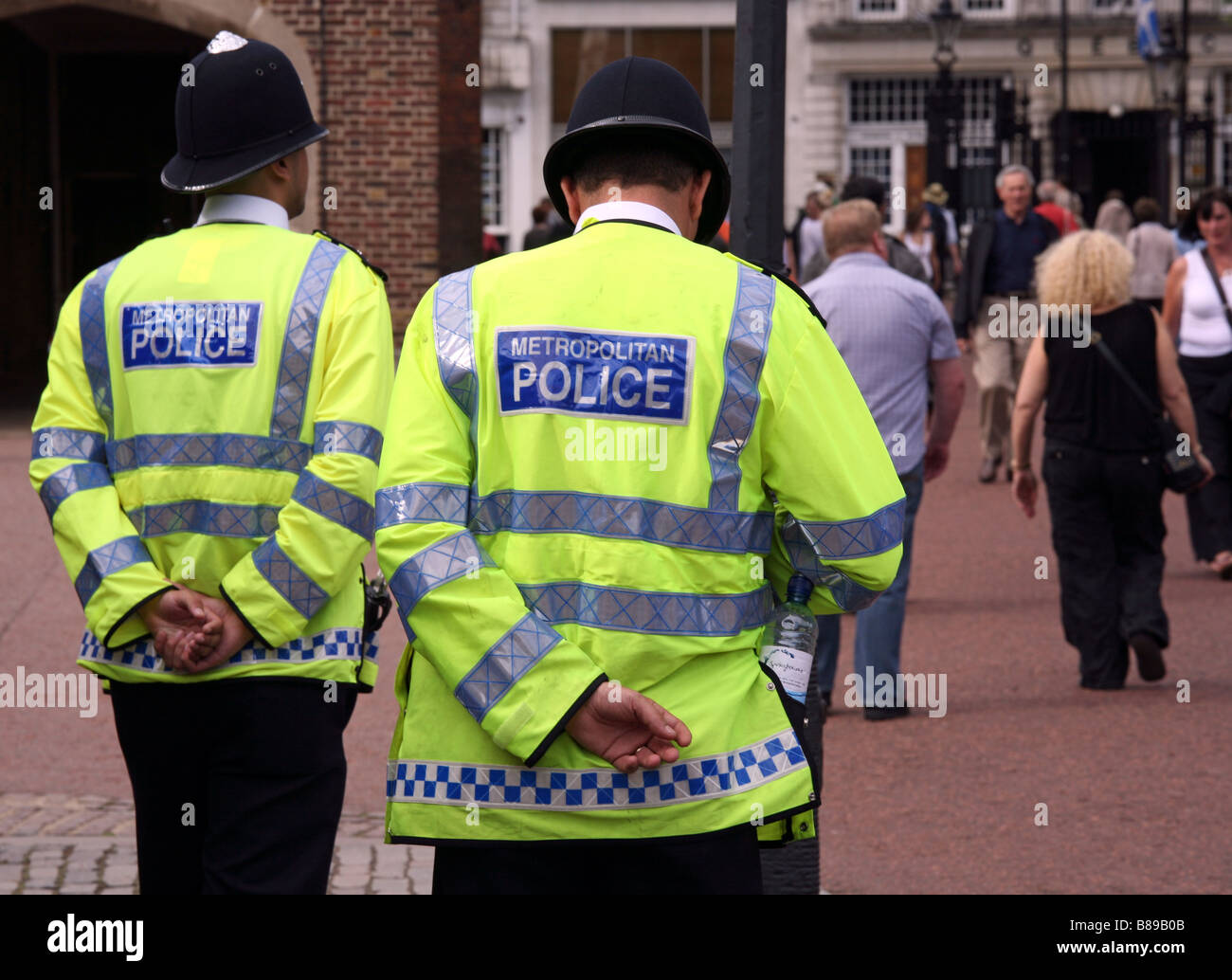 Police Officers, The Mall, London Stock Photo