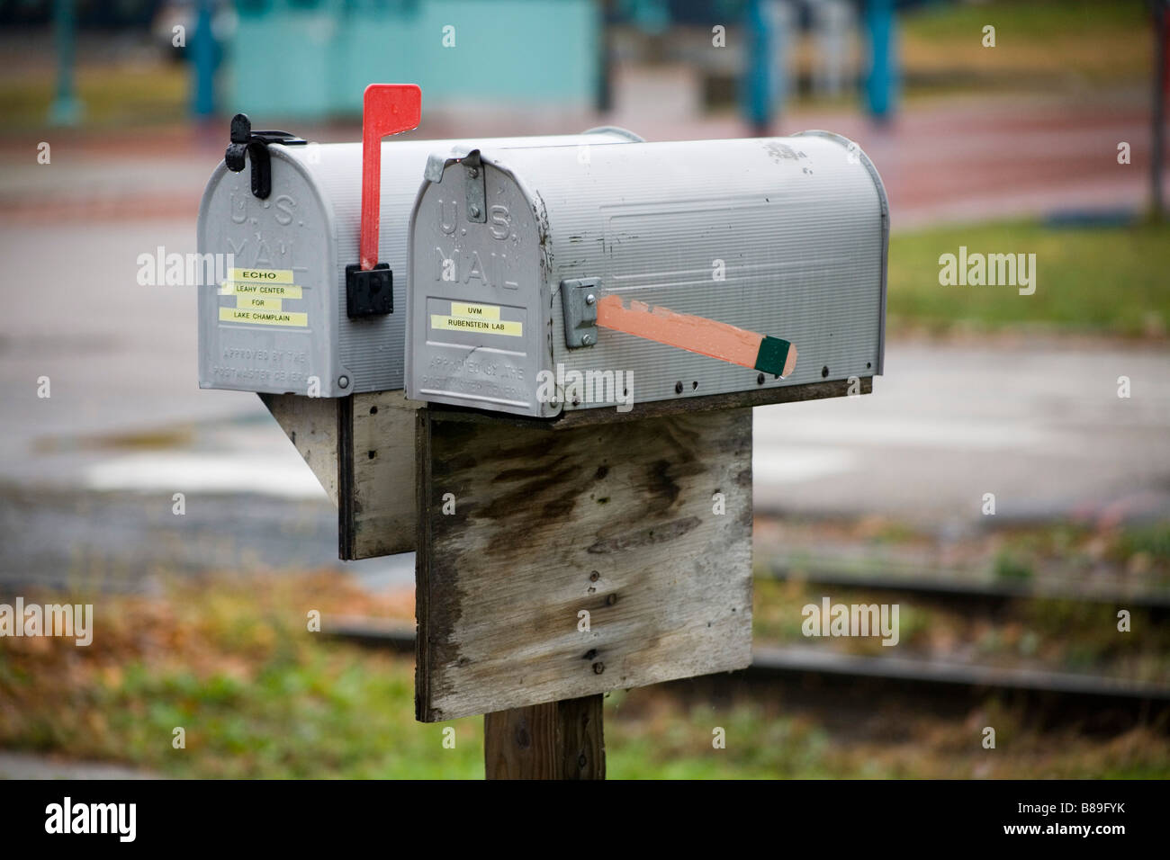 US Mail postboxes - Stock Image