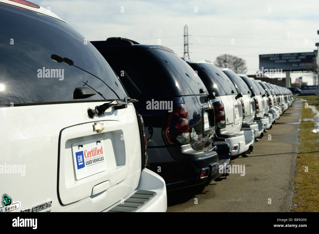 Used Chevrolet Trailblazers and other GM SUVs for sale at an auto ...