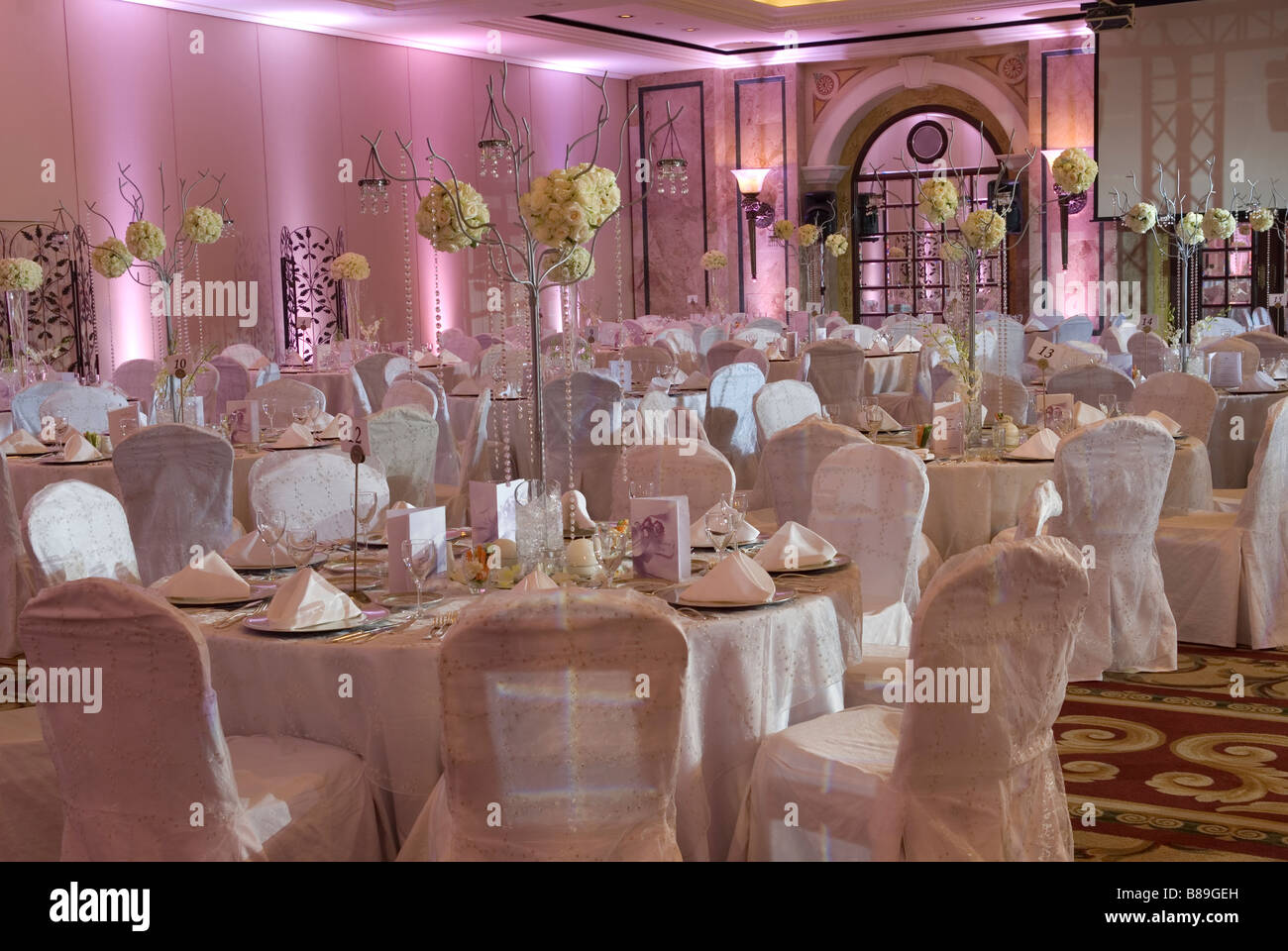 Wedding hall in phoenicia hotel lebanon middle east stock photo wedding hall in phoenicia hotel lebanon middle east junglespirit Gallery