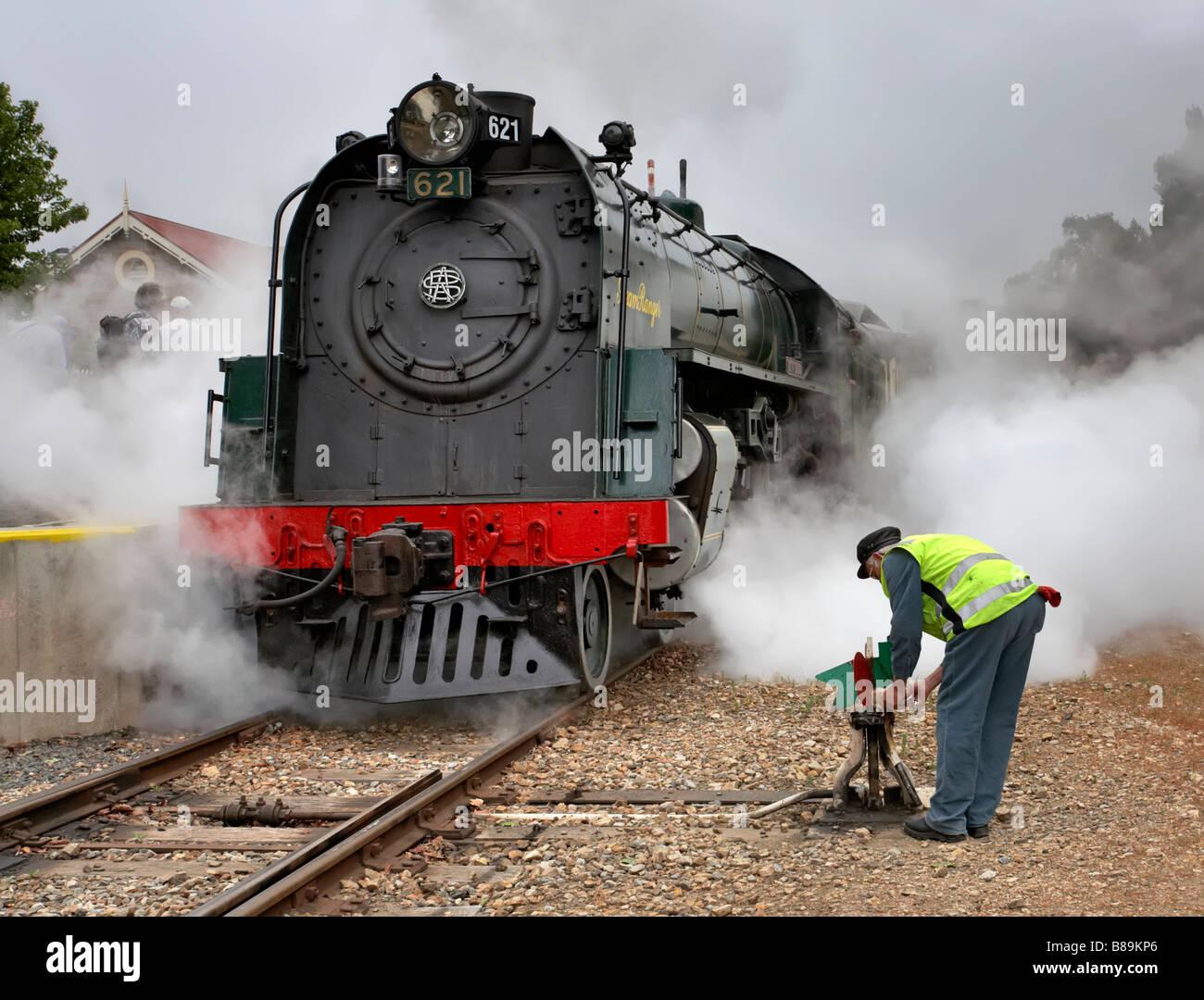 Steamranger  Stock Photo
