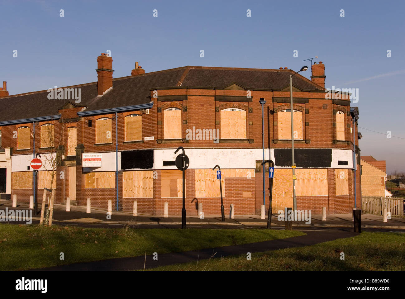 large windows for sale modern boarded up windows in empty large corner business property for sale prince of wales road sheffield england