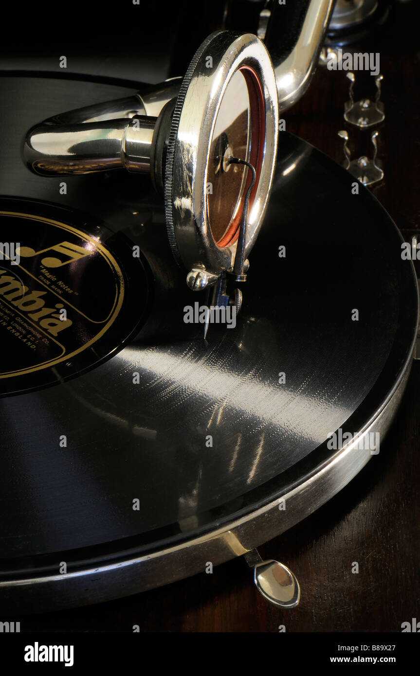 Gramophone - Stock Image