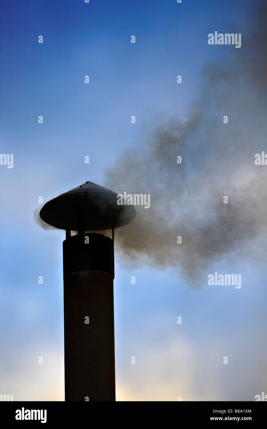 chimney - Stock Image